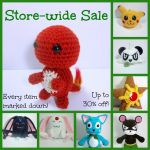 Store-wide Sale at The Emerald Stitch! by TheEmeraldStitch