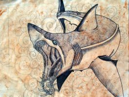 Helicoprion by MaryBunnie