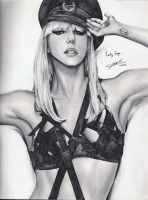 Lady Gaga by yaokhuan