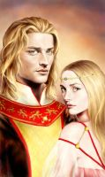 Lannister Twins by hardcoremiike