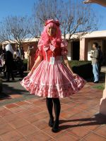 Strawberry Lolita Dress by kimchikawaii