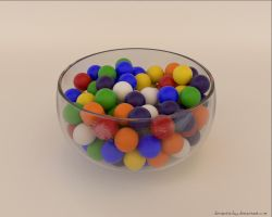 Gumballs by VickyM72