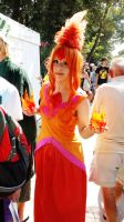 Flame Princess by JillianPandemonium