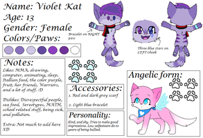 Violet's {updated} Ref sheet by Violetkay214