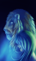 Her Lion by vividjudy