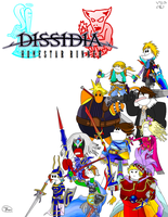 Dissidia - Homestar Runner by diskfire