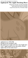 Applejack: The Applebucking Mare by sparklepeep