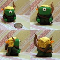 Legolas the Timid Monster by TimidMonsters