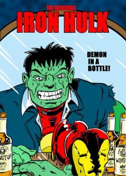 The Iron Hulk by spaceplant