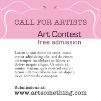 An Ad for Art Contest by mannicken