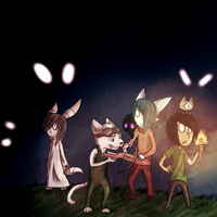 Don't starve fanart Fanart by PuddingzWolf