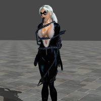 black cat captured by scout by vanexk13