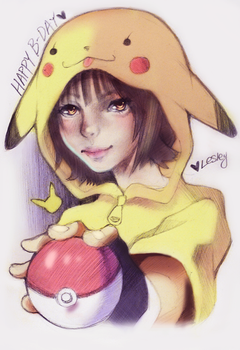 Pikachuuuuuuu by BaneIing