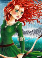 Merida - I choose my own fate by Shiita