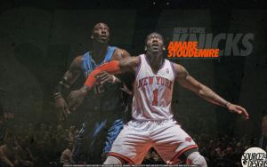 Amare Stoudemire  Wallpaper by IshaanMishra