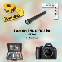 Forensics PNG 4: Field Kit by Machii-csi