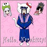 Hello Narakitty by virtualpapercut