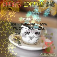 Berny's coffee bar by Bernybear