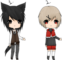 (CLOSED)(Auction) Point/Cash Adoptables: Wolf, Red by Acetylace-Adopts