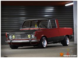 Fiat 125p PickUp Tuning by Szczubel