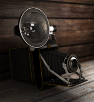 vintage camera by Mad-pencil
