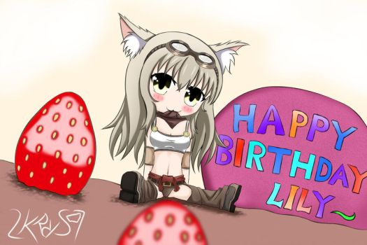 Lily Birthday by 2KRRS7