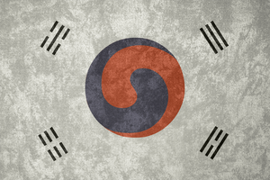 Korean Empire ~ Grunge Flag (1882 - 1910) by Undevicesimus