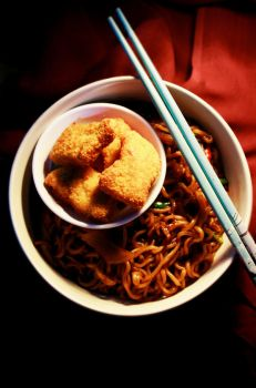 Chinese Soy Noodles by sasQuat-ch