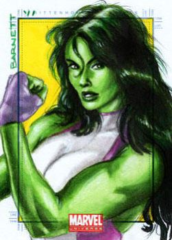 MU 2011 She-Hulk by artguyNJ