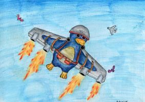 How to fly - sgt. Byrd by Lighiting-Dragon