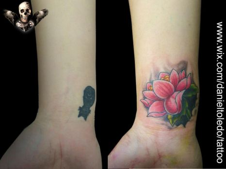 Cover up By Daniel Toledo by toledotattoo