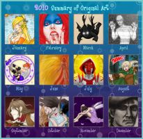2010 Art Meme - Original by ArtistMeli