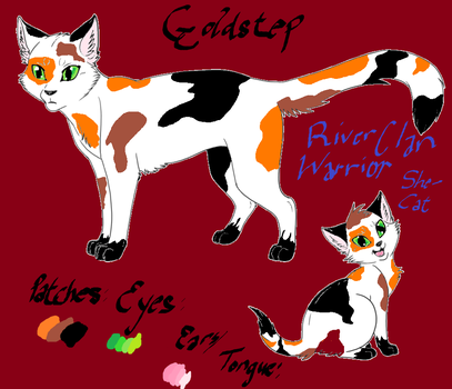 Goldstep Reference Sheet by Goldpaw101