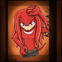 Knuckles O.C part 2 by SpaceFoxy