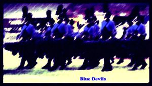 Blue Devils Burn by sevnated