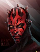 Darth Maul | Low-poly Vector by MSTR21