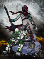 Destiny Fan work by jlewis413