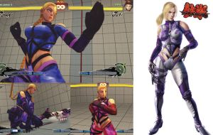 CAMMY tekken nina williams Costume MOD Screenshot by YUKARIN2012