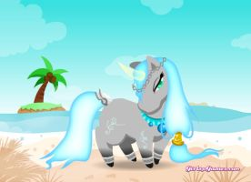 Ocean Unicorn Adopt #2 FREE (CLOSED) by blackshuck5adopts