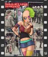 Punk is net kawaii, du wichser! by Palatin
