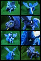 -Knitting- Poseable Luna by LadyTemeraire