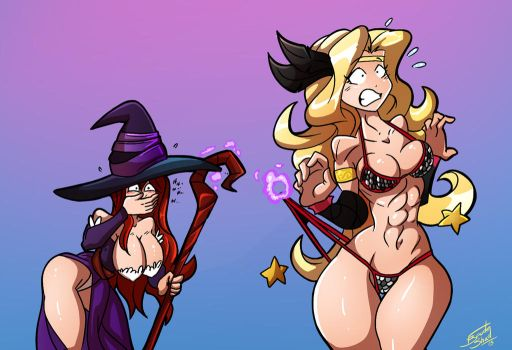 Commission - Dragon's Crown by FBende