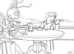 """Prize, """"Evening Tea"""" by Toughset"""
