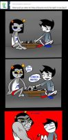 Ask John Egbert 15 by LeijonNepeta