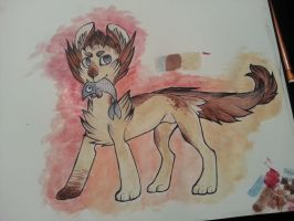 Watercolour Adoptable 1 by ChainsawTeaParty