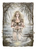 The Lady of the Lake by Achen089