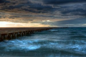 Sunset Pier IV by fazz1977
