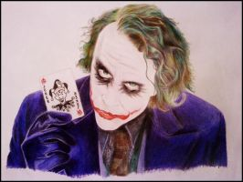 The joker by andrea-gatos