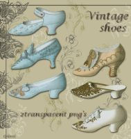 vintage shoes by libidules