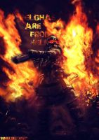 Helghast are from hell by Sonike